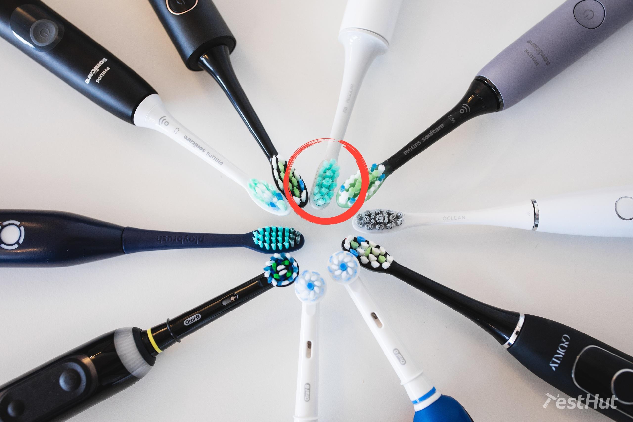 Xiaomi Mi Electric Toothbrush heads comparison