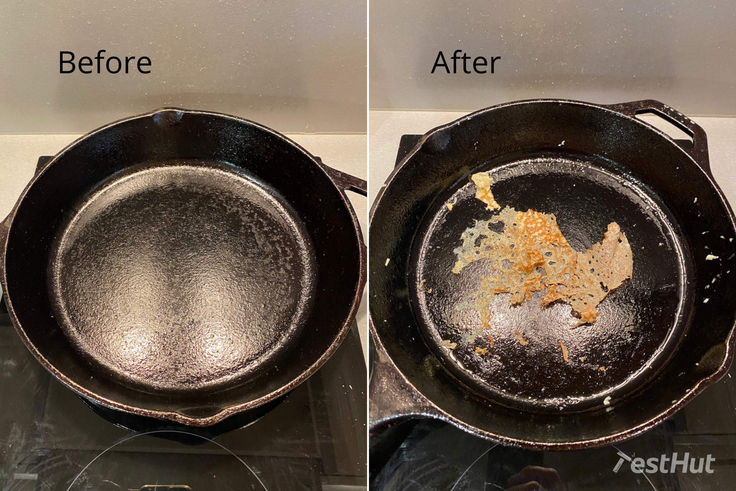 TestHut Frying pans food release test