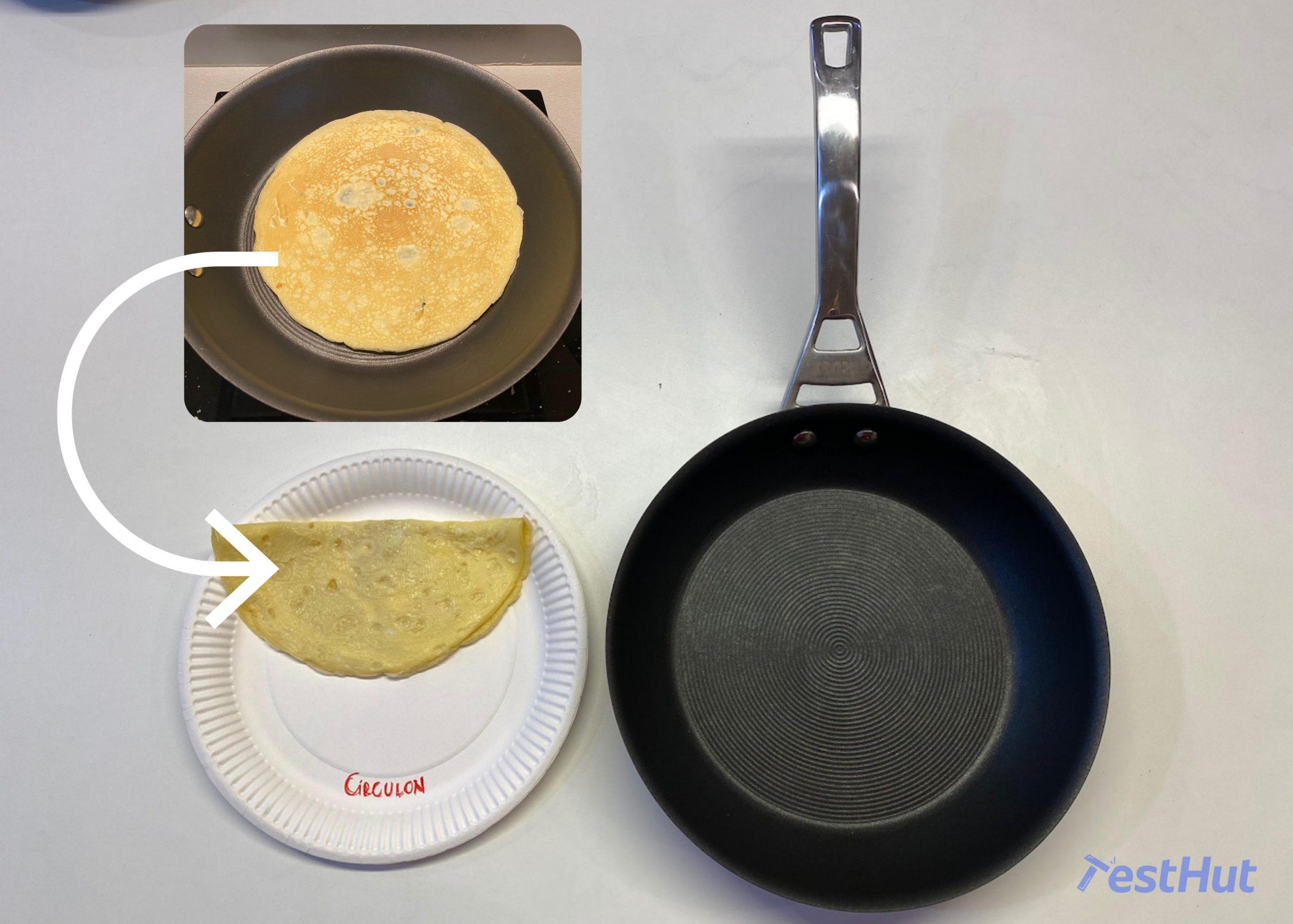 Circulon Infinite French Skillet omelet test