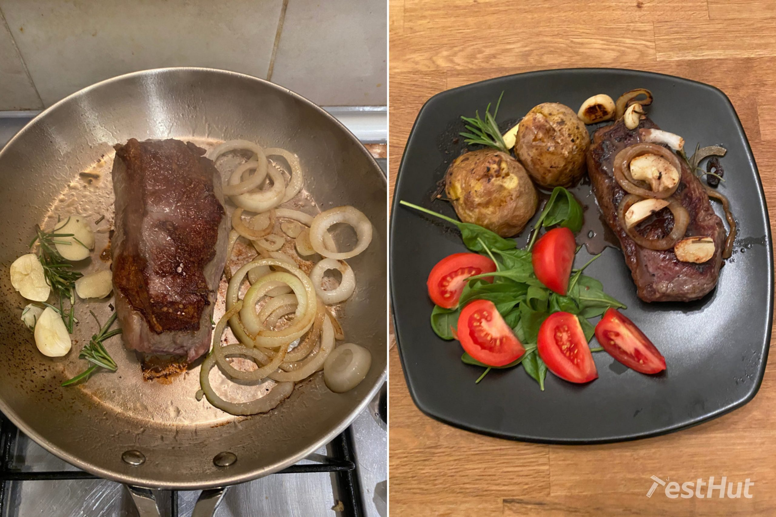 Lagostina Tempra Frying Pan cooking