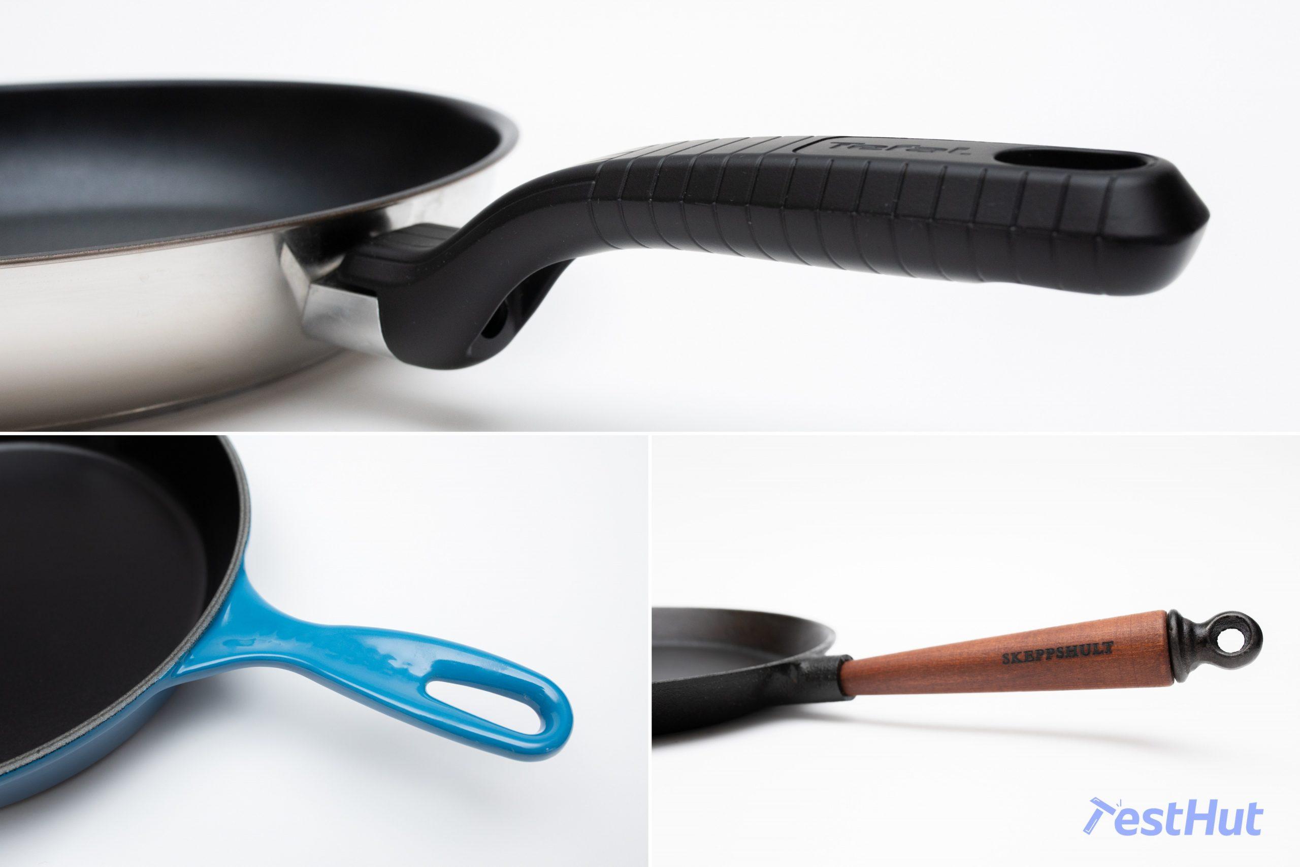 Frying pans handles
