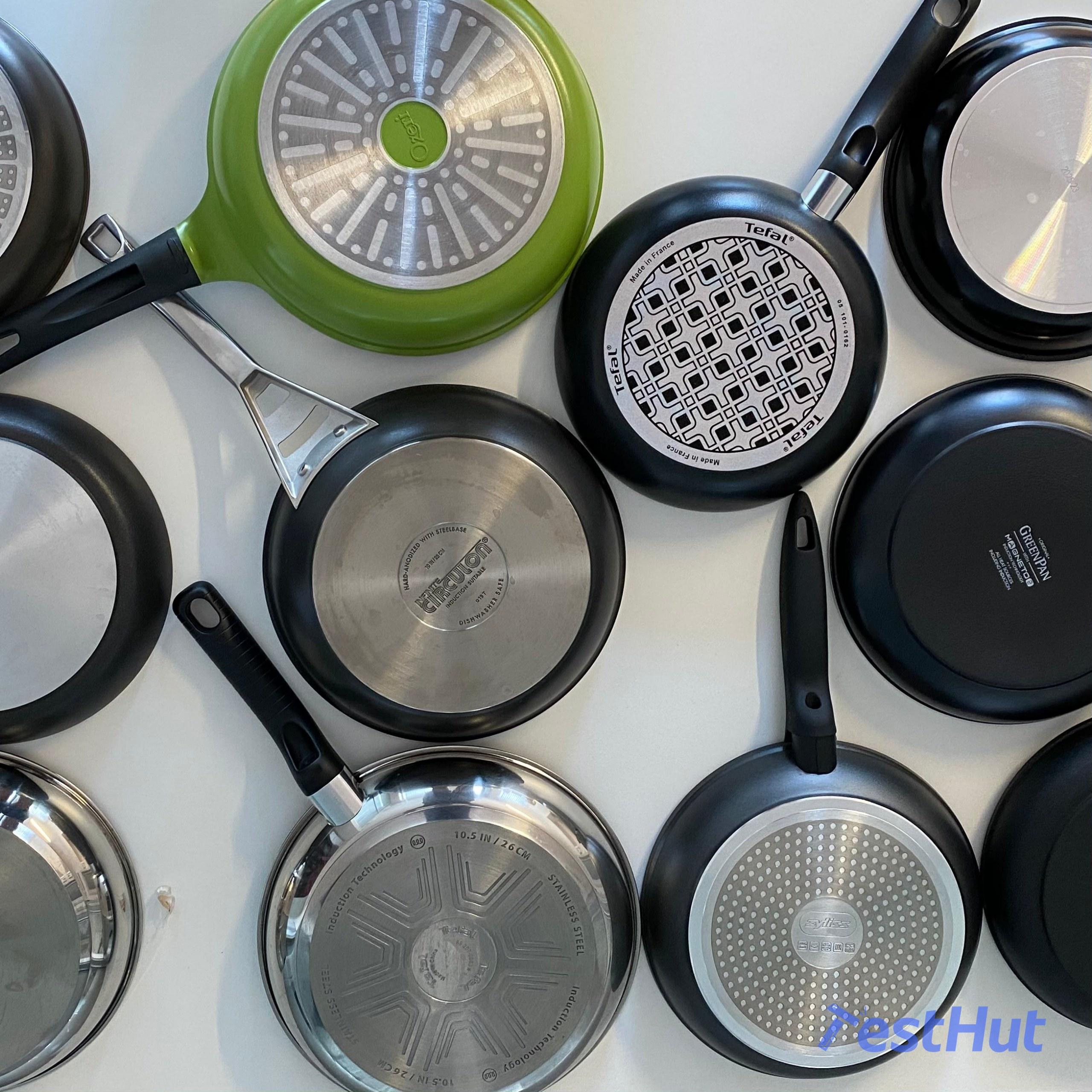 Frying pans backs