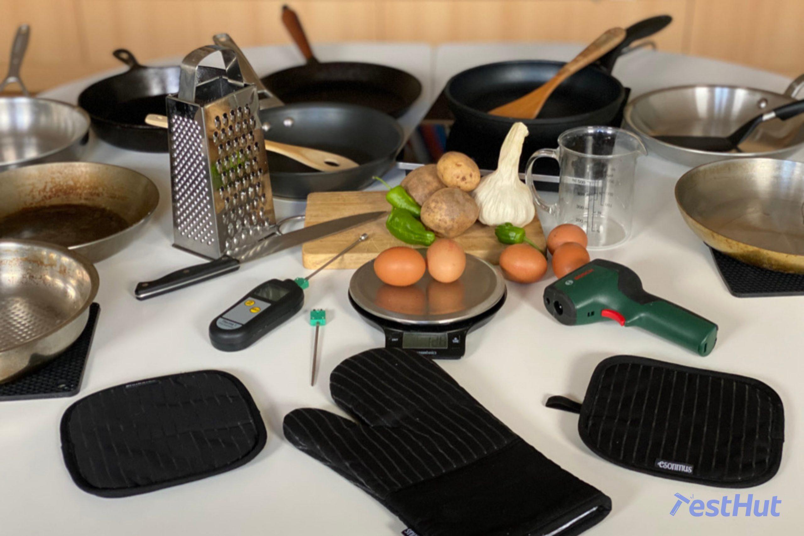TestHut testing frying pans